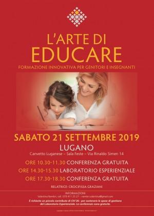 Conferenza - L'ARTE DI EDUCARE - formazione innovativa per genitori e insegnanti